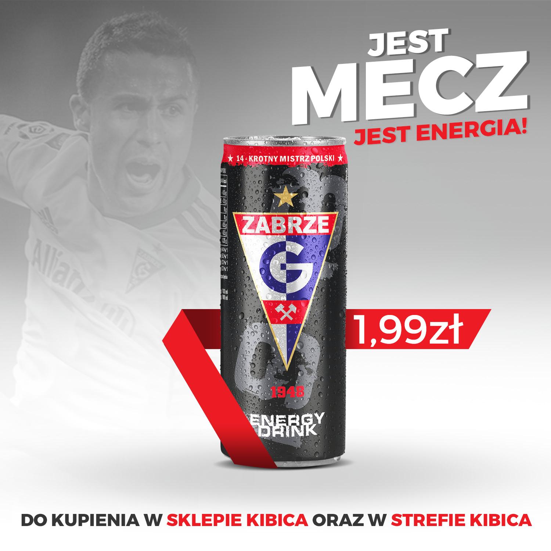 49b685dc5 Górnik Zabrze Energy Drink | Kibice | Górnik Zabrze Sportowa Spółka ...
