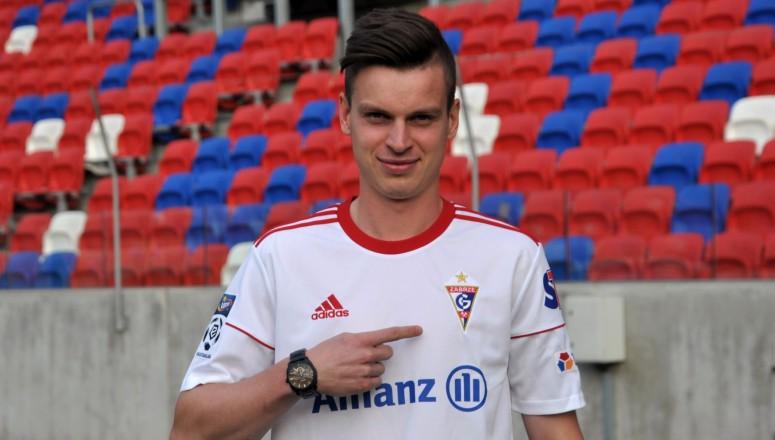 Adam Ryczkowski piłkarzem Górnika